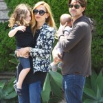 Rachel Zoe Takes Her Boys For Frozen Yogurt