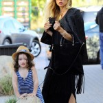 Rachel Zoe Enjoys Sunday Dinner With Family