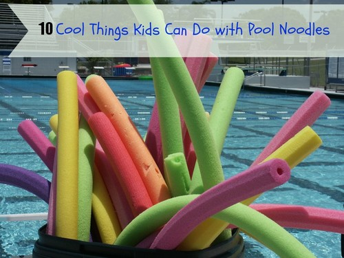 Water Sport Fun With Kids: 10 Cool Things Kids Can Do with Pool Noodles