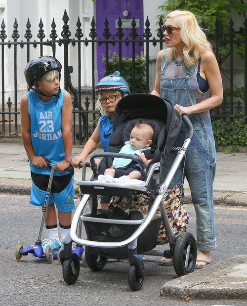 Gwen Stefani and Gavin Rossdale Enjoyed A Family Day With Their Sons Kingston, Zuma and Apollo (PHOTOS)