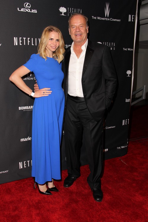 Kelsey Grammer's Wife Kayte Delivers Healthy Baby Boy
