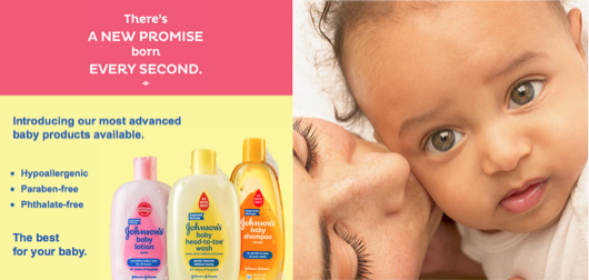 JOHNSON's Baby Reformulates Products For Moms' Peace of Mind #PromiseToBaby