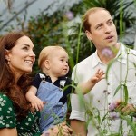 Kate Middleton and Prince William Celebrate Prince George's First Birthday By Releasing New Photos