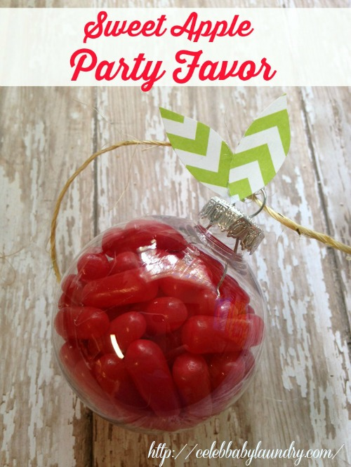 Fall Craft: Sweet Apple Party Favor