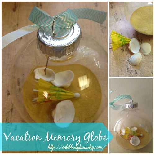 Vacation Craft: A Holiday Memory Globe to Preserve Your Precious Vacation Memories