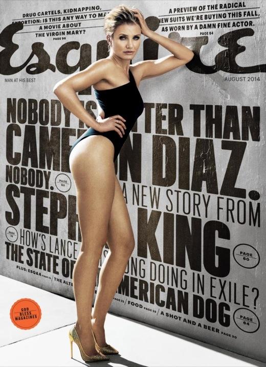 Cameron Diaz Esquire Magazine