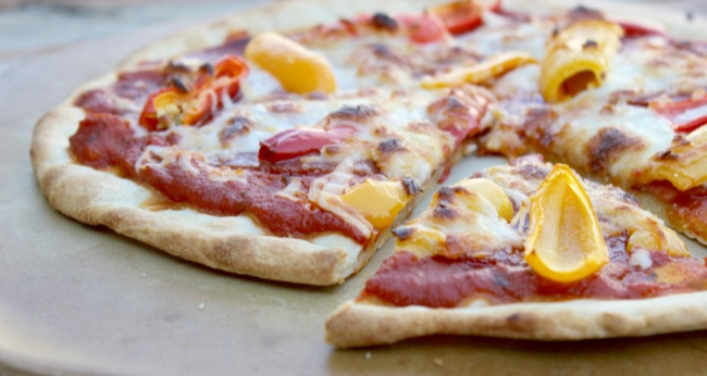 Easy Dinner Recipe: Hard Salami & Pepperoni Pizza