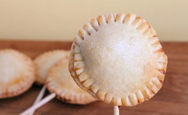 Easy to Make Cherry Pie Pops