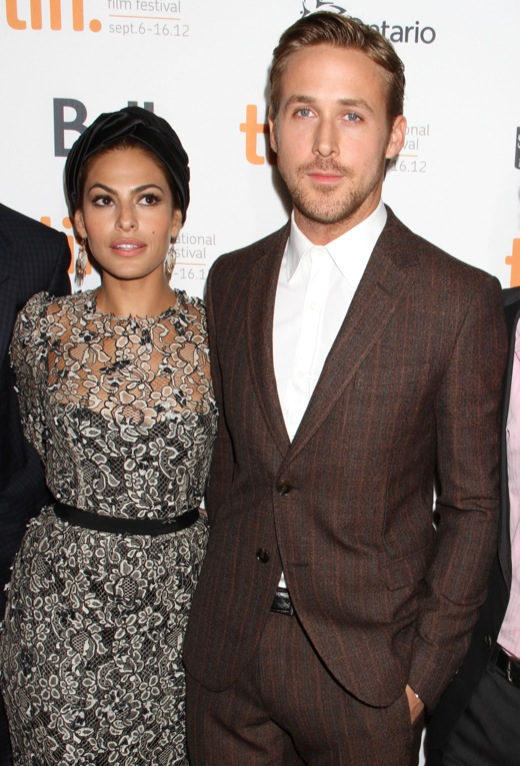Eva Mendes And Ryan Gosling Attend 'The Place Beyond The Pines' Premiere
