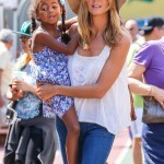 Heidi Klum Enjoys a Day Out With her Children in NYC