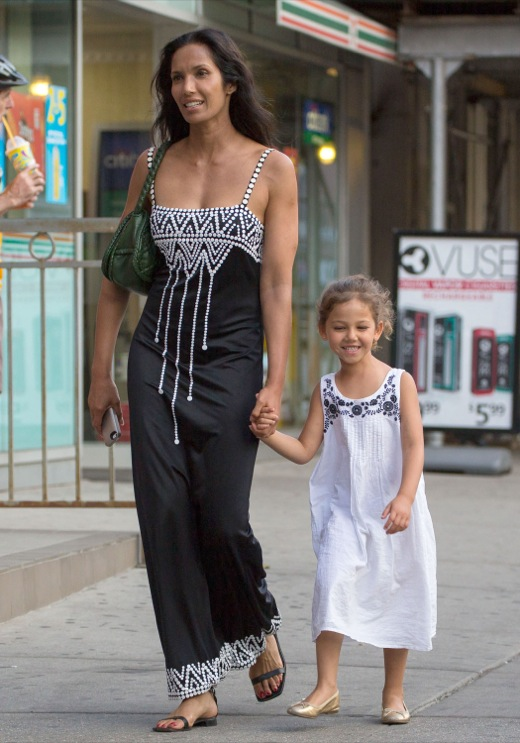 Padma Lakshmi Enjoys Day Out With Krishna