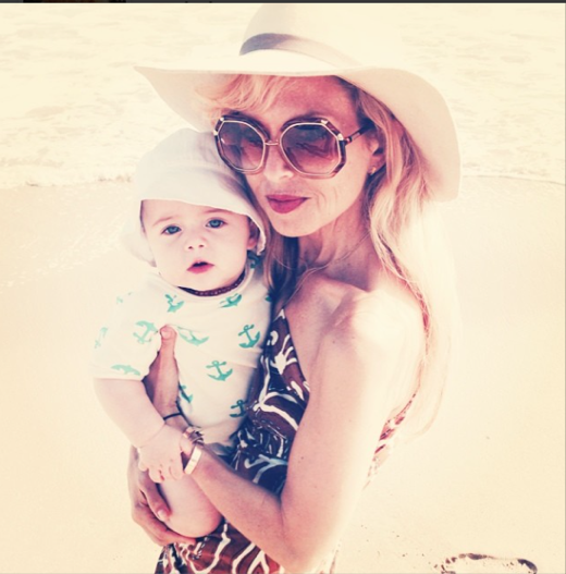 Rachel Zoe: Malibu Moments With Son Kaius