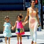 Alessandra Ambrosio Takes Her Daughter Anja And A Friend Shopping (PHOTOS)