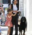 Nicole Richie Takes Iro To A Dog Class