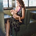 Olivia Wilde Breastfeeds Son Otis For Glamour Magazine's Cover Story