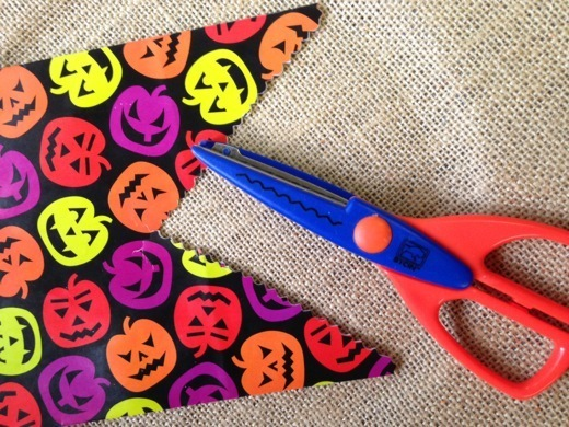 Halloween Goodie Bag Bunting Banner