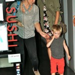 Hilary Duff Dines Out With Luca