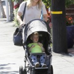 Hilary Duff Does Some Shopping With Luca