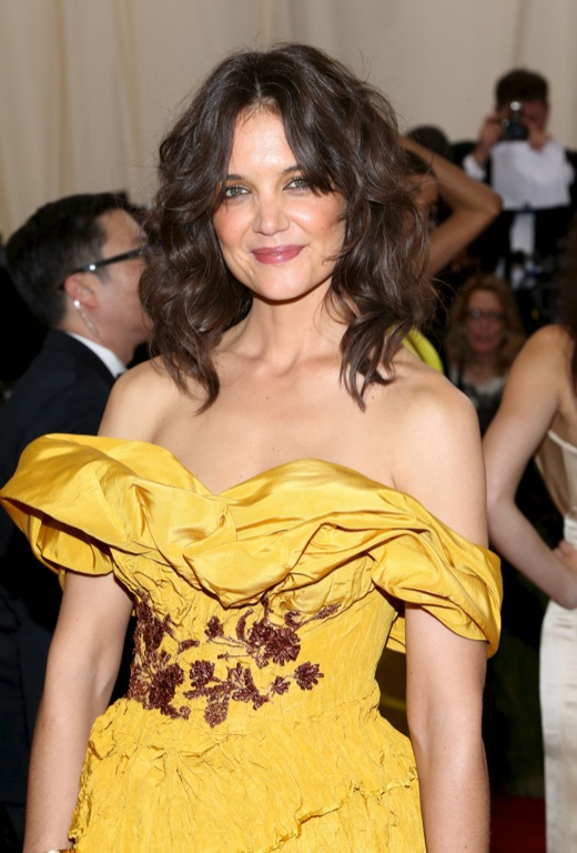 Katie Holmes Doesn't Worry about Suri Becoming a Teenager