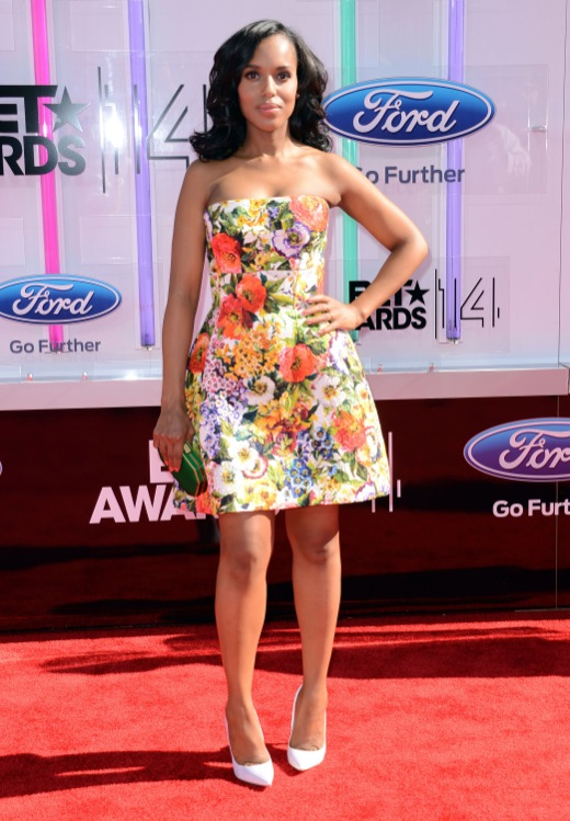 Kerry Washington at the 2014 BET Awards
