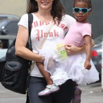 Kristin Davis Picks Up Gemma From Ballet Class
