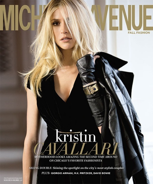 Kristin Cavallari Covers Michigan Avenue Magazine