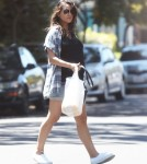 Exclusive... Pregnant Mila Kunis Goes Shopping In Hollywood