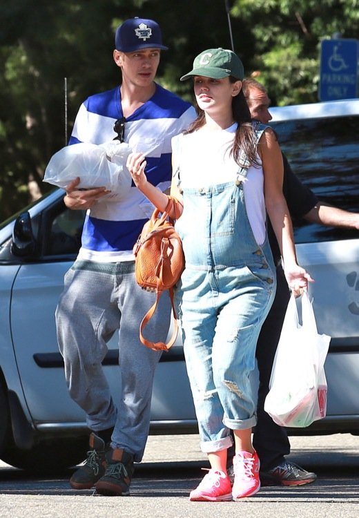 Pregnant Rachel Bilson & Hayden Christensen Out On A Camping Trip