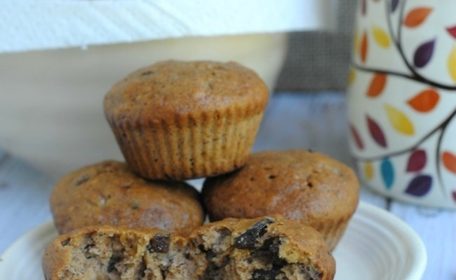 Get Ready For Cooler Weather With Homemade Raisin Banana Muffins #Recipe