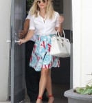 Reese Witherspoon Visits Her Office With Deacon