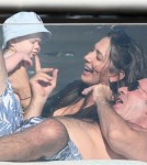 Simon Cowell & Family Having Family Time