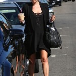 Pregnant Ali Larter Styles In All Black