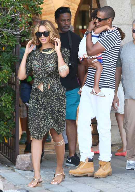 Exclusive beyonce jay z amp blue ivy visit the picasso museum