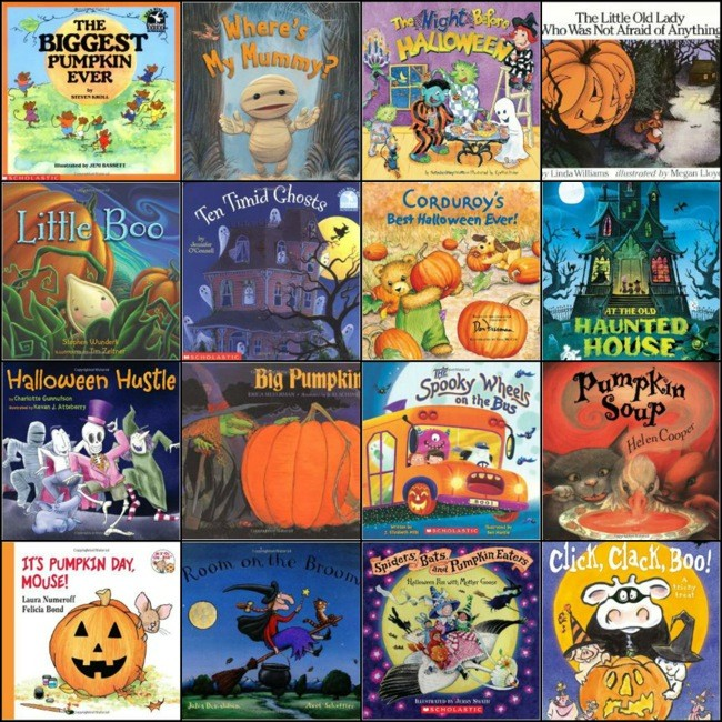 31 of the Best Children's Books For Halloween
