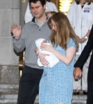 Chelsea Clinton Steps Out In NYC With Her New Baby Girl
