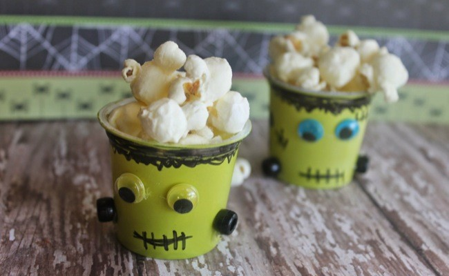 Easy Halloween Craft: Frankenstein K-Cups