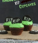 Halloween Themed RIP Cupcakes