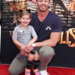 Ian Ziering & Mia Attend the BOXTROLLS Premiere
