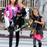 Jessica Alba: Saturday Girls Day Out With Haven & Honor