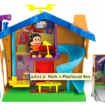 Toy Spotlight: Julius Jr. Rock'n Playhouse Playset
