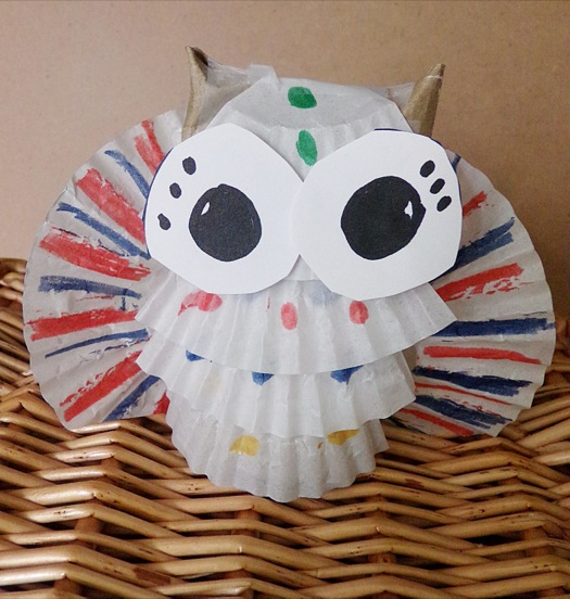 Crafting For Young Children: Toilet Paper Owl