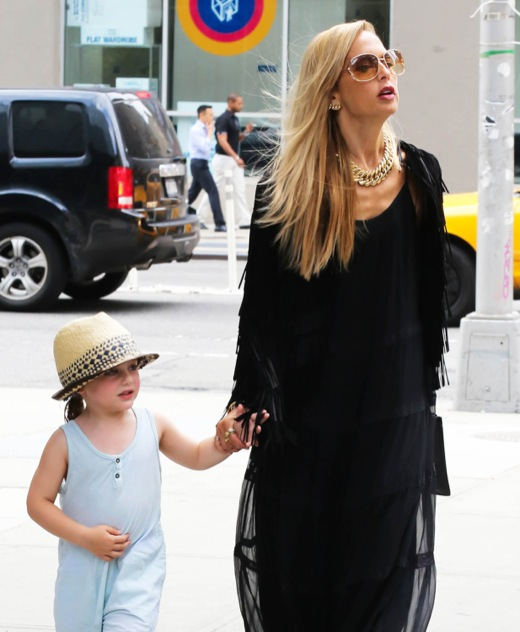 Rachel Zoe Strolls With Skyler During NYC Fashion Week