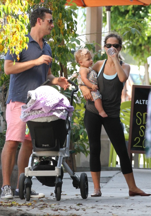 Tammin Sursok & Family Out & About