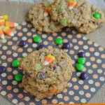 Get Ready For Halloween! Candy Corn Monster Cookies