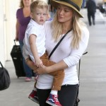 Hilary Duff & Luca Jet Off