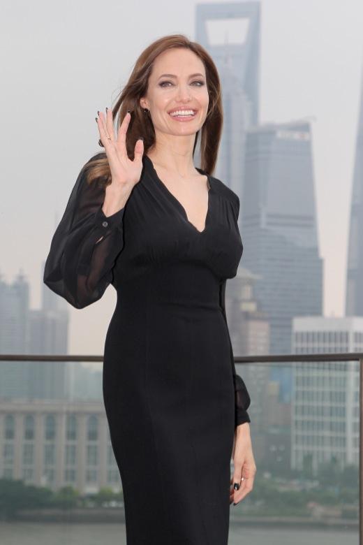 Angelina Jolie Visits Shanghai