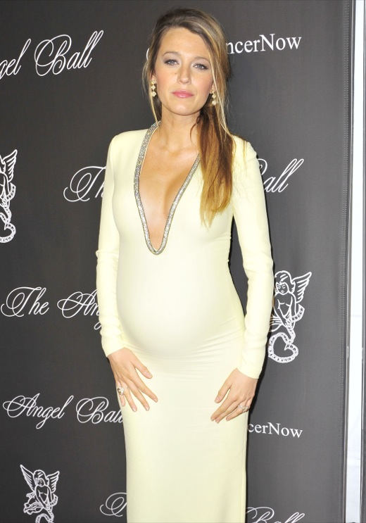 Pregnant Blake Lively Glows at The Angel Ball