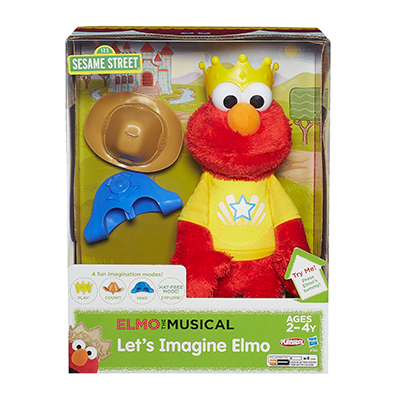 Inspire Interactive Learning With Let's Imagine Elmo  ‪#‎ImagineWithElmo‬