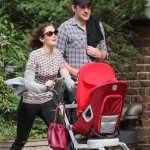 Emily Blunt & John Krasinski Take a Stroll With Hazel