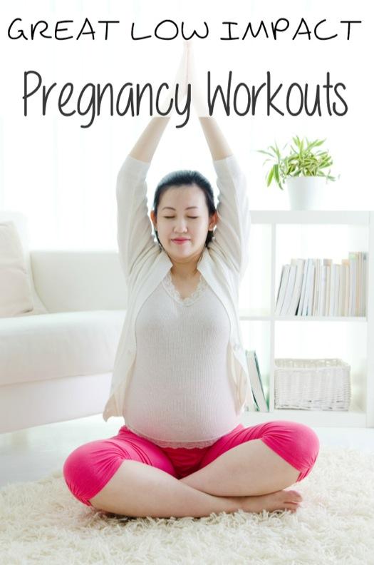 Great Low Impact Pregnancy Workouts